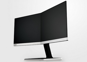 Philips Two-in-One seamless Monitor, 2014 COMPUTEX d&i Gold Award, Model 19DP6QJNS